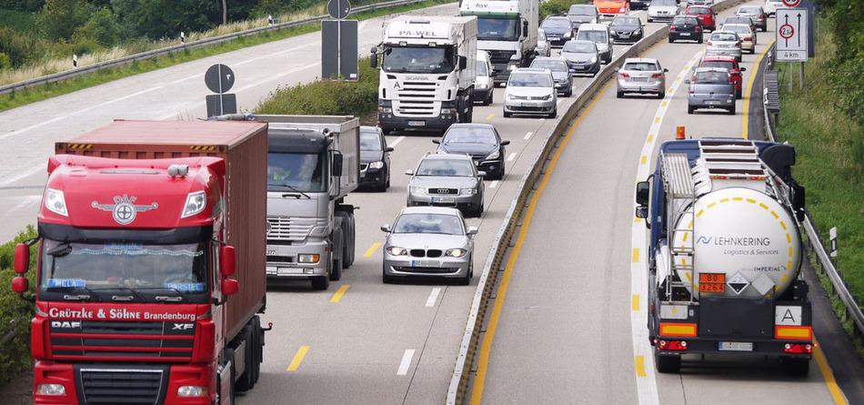 Запреты движения грузовиков в европейских странах в августе